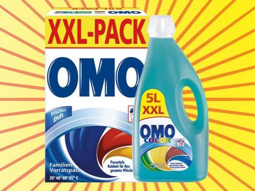 [LIDL] OMO Vollwaschmittel 1 WL = € 0.12 vom 03.01. - 05.01.2013