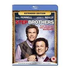 Blu Ray Step brothers/ Stiefbrüder extended mit Dt Tonspur