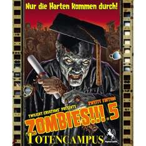 Brettspiel Zombies!!! 5: Totencampus, 2.Edition @ Amazon