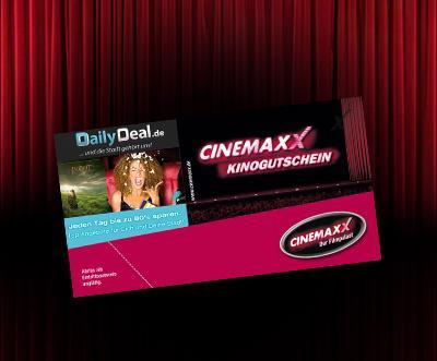 Cinemaxx Gutscheine wieder bei Dailydeal erhältlich! Zum Beispiel 5 mal ins Kino für 34,90€.