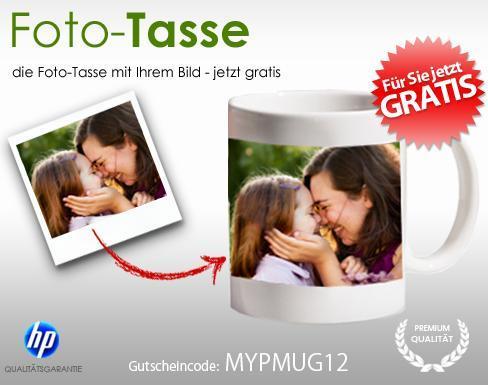 [Wieder da] Fototasse für effektiv 1,95€ für Neukunden bei myprinting.de