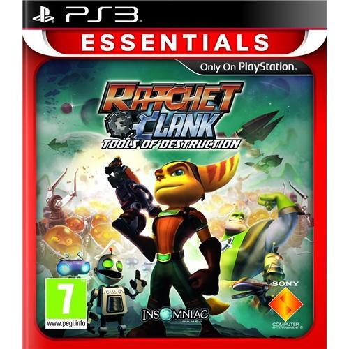 PS3 - Ratchet & Clank: Tools of Destruction (Essentials) für €10,93 [@Shopto.net]