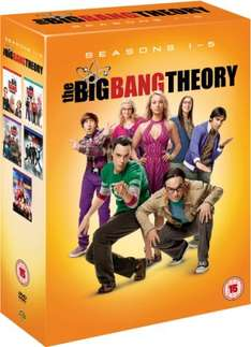 The Big Bang Theory - Complete Season 1-5 auf DVD für ca. 33,22€ beim Zavvi.com *Englisch*