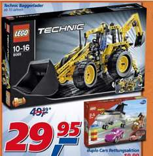 (Bundesweit? REAL) LEGO Technik Baggerlader (8069)