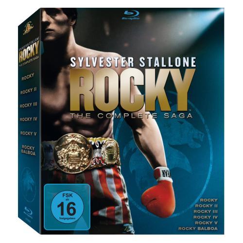 [Blu-Ray] Rocky - The Complete Saga | *6 Filme* - für 24,99€ inkl. Versand