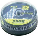 PLATINUM BD-R 25GB 6x Speed 50 Stk @ voelkner.de *Nur noch Heute*