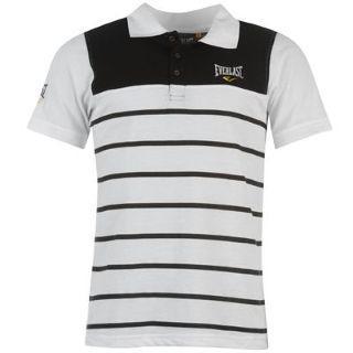 Everlast Polohemd (Everlast YD Striped Polo Shirt Mens), 4 versch. Farben