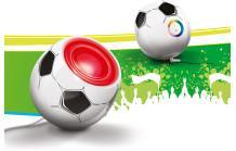 Philips Living Colors Mini (Soccer Edition) für 34,90€.