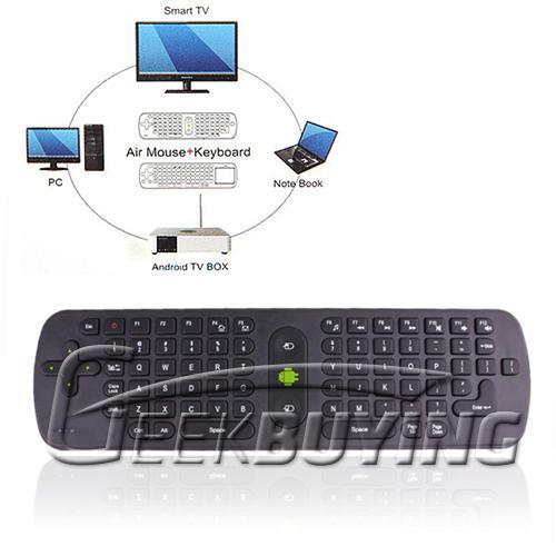 Air Mouse Remote Controller (Maus Tastatur ersatz für Android) -> Ideal für Android HDMI Stick