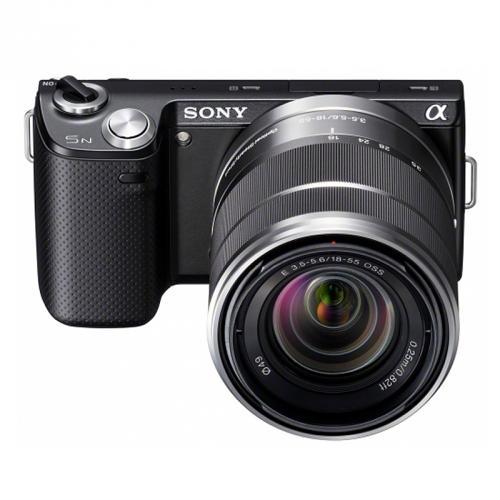 Systemkamera Sony NEX-5n 18-55mm Kit schwarz