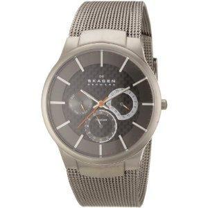 Amazon: Skagen Herren-Armbanduhr Titanium Analog Quarz 809XLTTM  für 101,56€ (>52% günstiger)