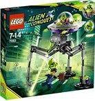 Lego Aliens dreibeiniger Roboter 12,99 € und grosses Alien Raumschiff 25,50 € plus 4,99 € VSK