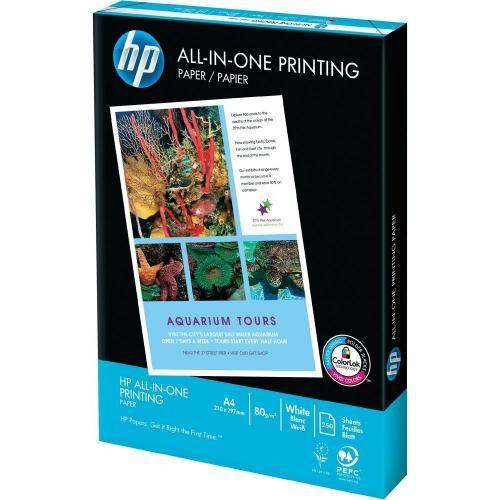 HP All-In-One Printing A4-Papier 250 Stück, 1 x0,99 €, danach 2,22€ auch offline