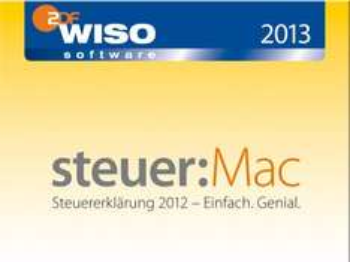 [gravis] WISO steuer:Mac 2013 - Selbstabholung