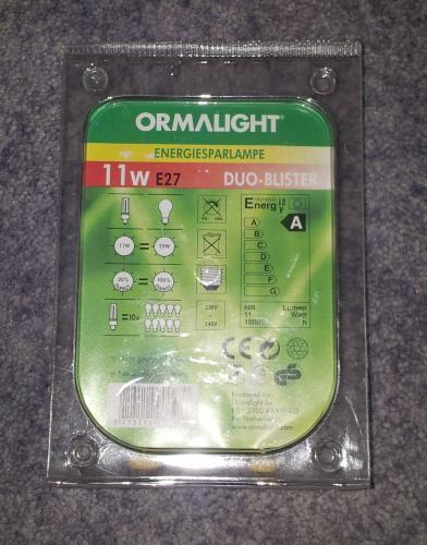 [TOOM 79650 Schopfheim ] Zwei Energiesparlampen 11W Warmweiß 0,5€