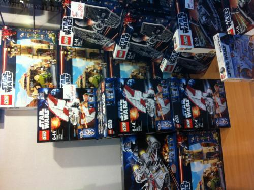 {lokal} LEHRTE - Beckmann-Henschel - Lego Star Wars 7931 T-6 Jedi Shuttle -> 39,99