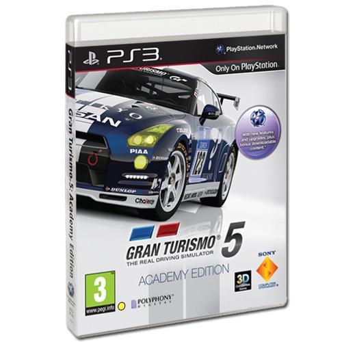 [@Ebay] Gran Turismo 5 GT 5 Academy Edition für PS3  für 17,90 euro inkl. Verand