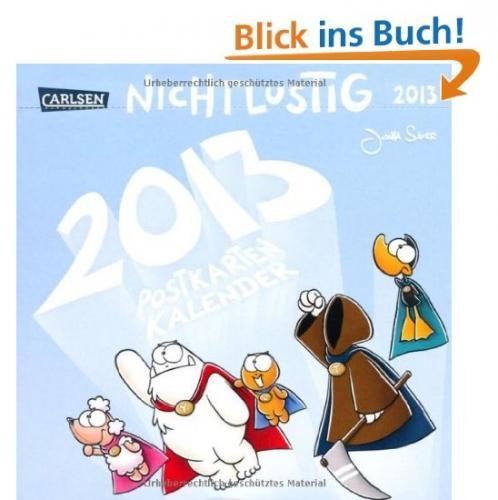Nicht lustig - Postkartenkalender 2013 für 7,92 EUR @ Amazon.de