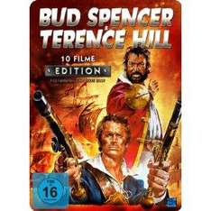 Bud Spencer & Terence Hill 10 Filme Edition (4 DVDs in Metallbox) für 22,94 € inkl. Versand vorbestellen (VÖ: 21.01.2013)