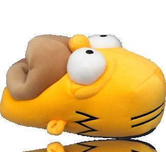 Homer Simpson Hausschuhe für rechnerisch 45 Cent dank Deichmann Aktion + Qipu beim Kauf eines reduzierten Paares Schuhe