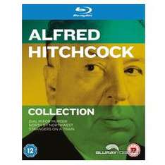 Hitchcock Collection für 12,14 € inkl. Versand, mit dt. Tonspur (3 Blu-rays) @TheHut UK