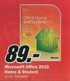 Microsoft Office 2010 Home and Student [lokal?]