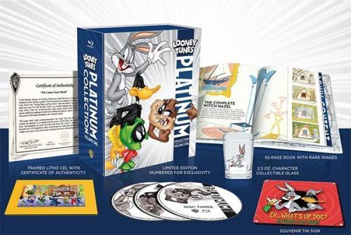 [amazon.ca/Blu-Ray] Für Sammler  Limitierte und Nummerierte Looney Tunes Platinum Collection: Volume One (Ultimate Collector's Edition) auf Blu-ray für 24,80€ inklusive Versand (auf amazon.com ca 45.10€ + Versand)