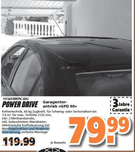 Garagentorantrieb Chamberlain Powerdrive »GPD 60«