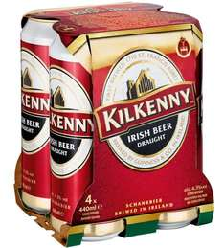 4 Dosen Kilkenny (4 x 440 ml) für 1 € Globus Koblenz