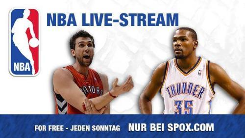 """Ein NBA Spiel jeden Sonntag """"For Free"""" bei Spox.com"""