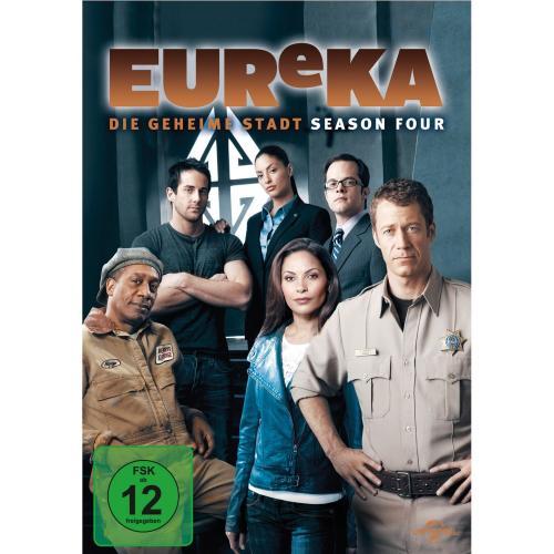 [Amazon] Eureka - Die geheime Stadt Staffel 4 - DVD für inkl. Versand 22,99 EUR