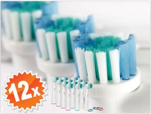 9,95€ für 12 x Aufsteckbürsten für Oral-B Professional Care 500/550/5000/6000/7000/8000/9000 @guut.de