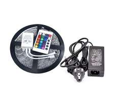 5M LED Strip RGB 270 LED´s  SMD Strip Streif&Controller&Trafo 12V