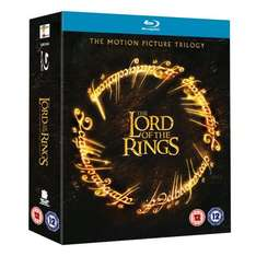 [amazon.co.uk] Lord Of The Rings Trilogy (Theatrical Version) [Blu-ray]