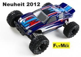 DF Models Truggy 1:10 Brushless 4WD RTR mit 2,4GHz Fernsteuerung