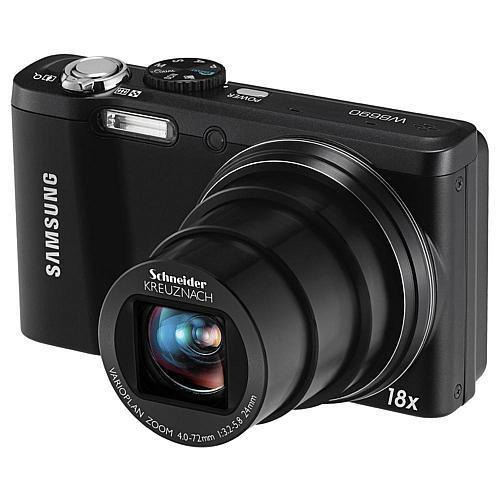 "89€ statt 229€! Samsung WB690 - (""1B"" Ware) - Digitalkamera - Kompaktkamera, schwarz"