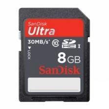 SanDisk 8GB Ultra (30MB/s) SDHC Klasse 10 für 5,99€ @Zoombits