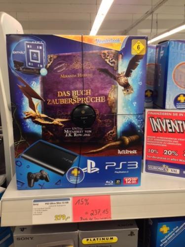 Sony PlayStation 3 - Konsole Ultra Slim 12 GB  - Das Buch der Zaubersprüche