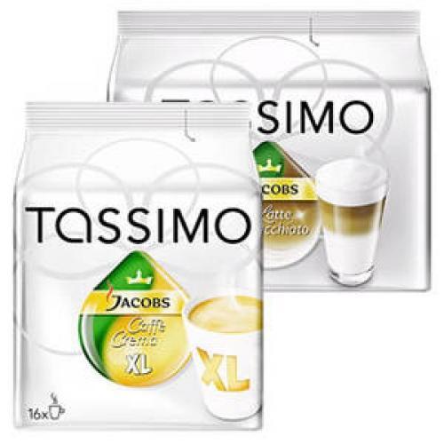 Tassimo Caffè Crema XL / Latte Macchiato für 3,99 bei REWE und Teils weniger bei Anderen