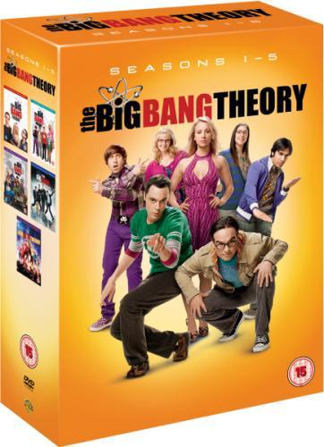 Big Bang Theory Season 1 To  5!  £30.00!