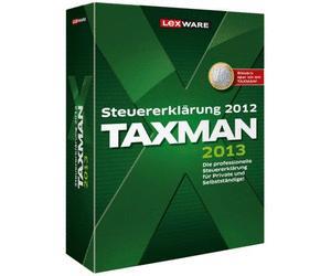 Taxman 2013 - Steuererklärung 2012 DVD-Version für 19,90