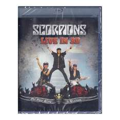 (Österreich) Scorpions: Live In 3D - Get Your Sting & Blackout Blu-Ray um 3,99 Euro