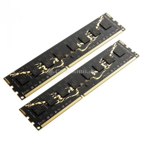 (LOKAL BERLIN) GeIL Black Dragon Series DDR3-1600, CL11 - 16 GB Kit