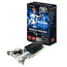 [amazon.co.uk] Sapphire 11190-01-20G HD 6450 512MB DDR3 Graphics Card für umgerechnet 28,90 € inkl. Lieferung