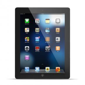 Apple iPad mit Retina Display 4.Generation 16GB Wi-Fi - schwarz / FINANZIERUNG