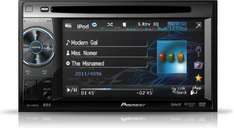 Pioneer AVH-1400DVD (DoppelDIN Moniceiver mit Touchscreen, iPod Control, Front USB und Aux-in)