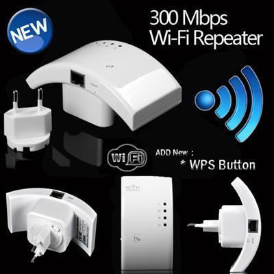WiFi Repeater 300 Mbit für nur 18,98 EUR inkl. Versand!