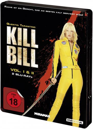 Kill Bill Steelbook Bluray inkl. Versandkosten