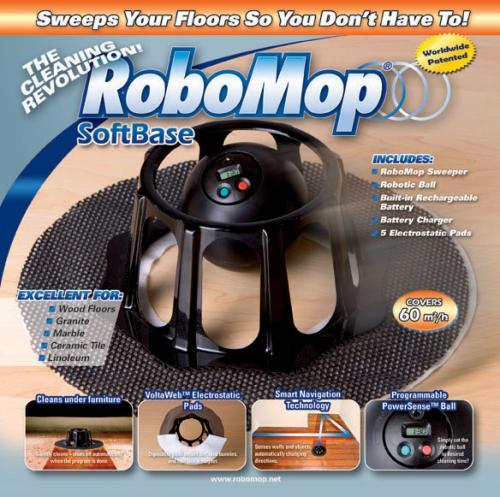 Robomop - für das schnelle entstauben zwischendurch.