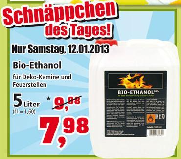 [Thomas Phillips] 5l Bio- Ethanol Kanister nur Samstag 12.01